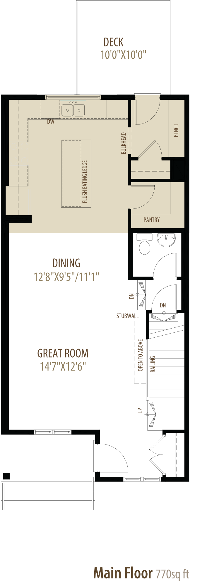 123 Howse Crescent Floorplan