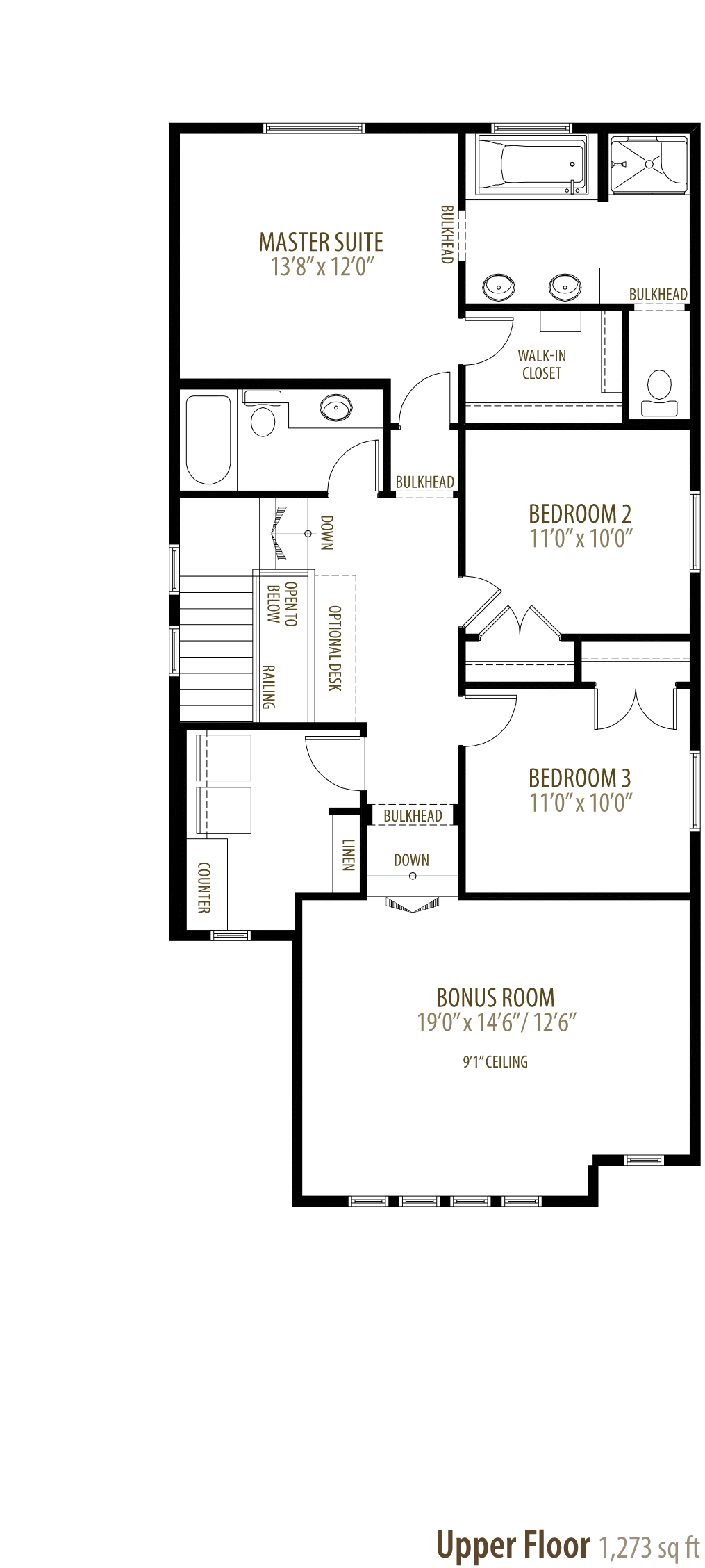 1258 Peregrine Terrace NW Floorplan