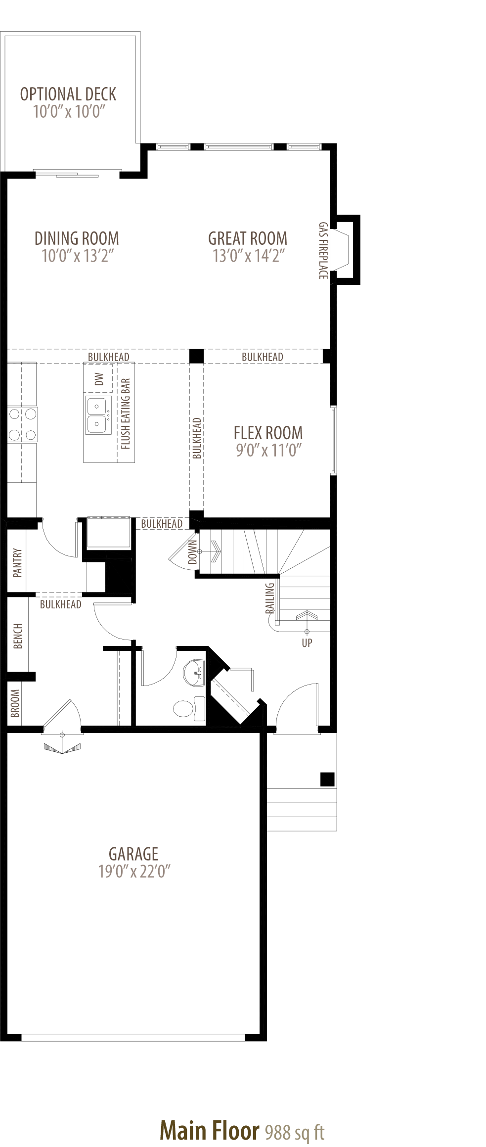 1292 Peregrine Terrace NW Floorplan