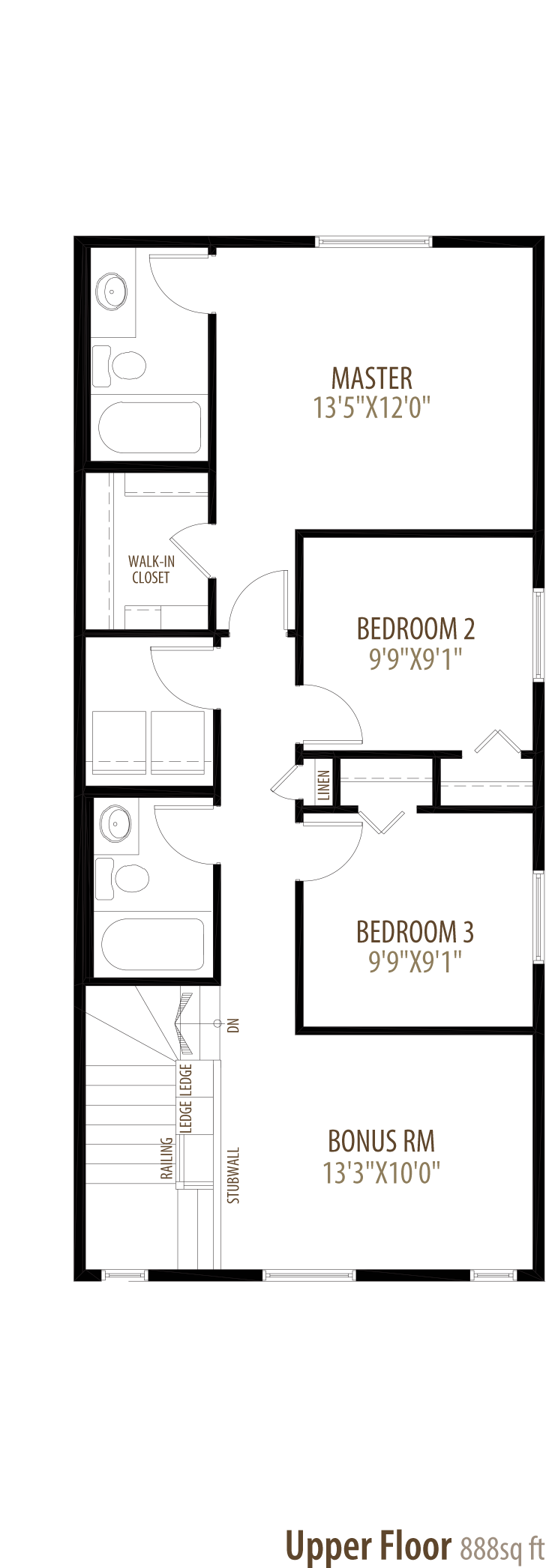 Brooklyn Floorplan