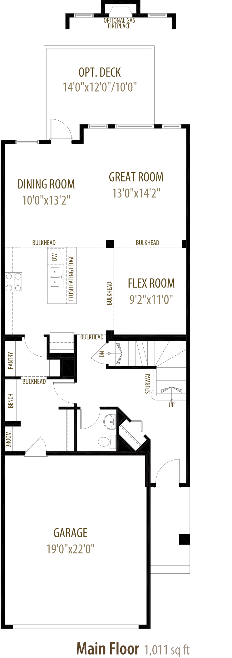 Cliffton Floorplan