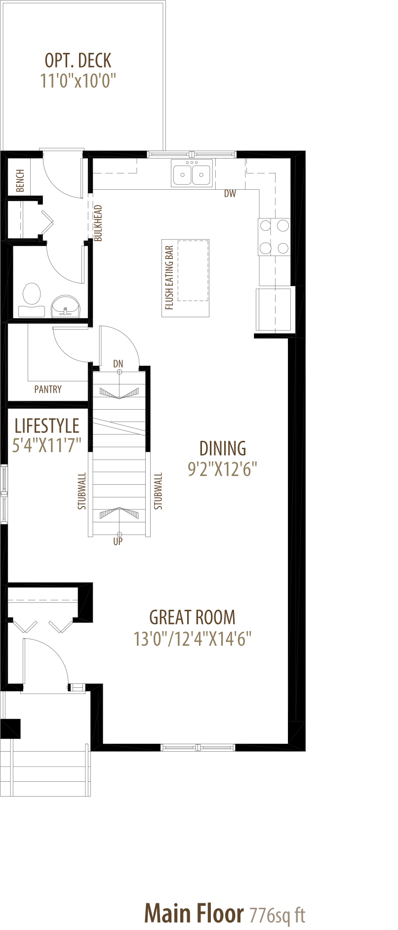 Easton Floorplan
