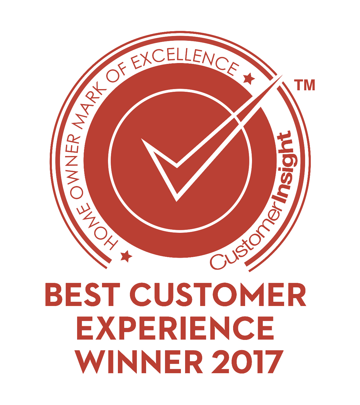 Best Customer Experience Winner 2017 Red
