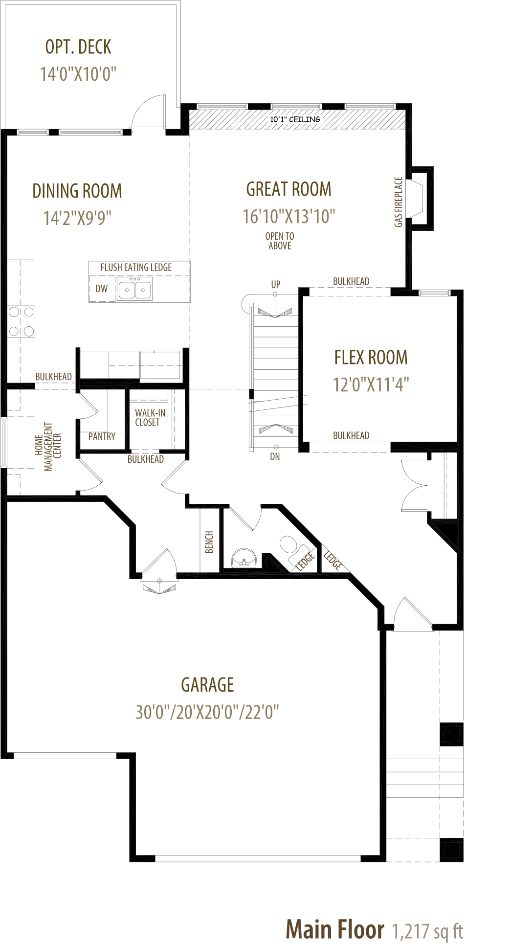 Edworthy Floorplan