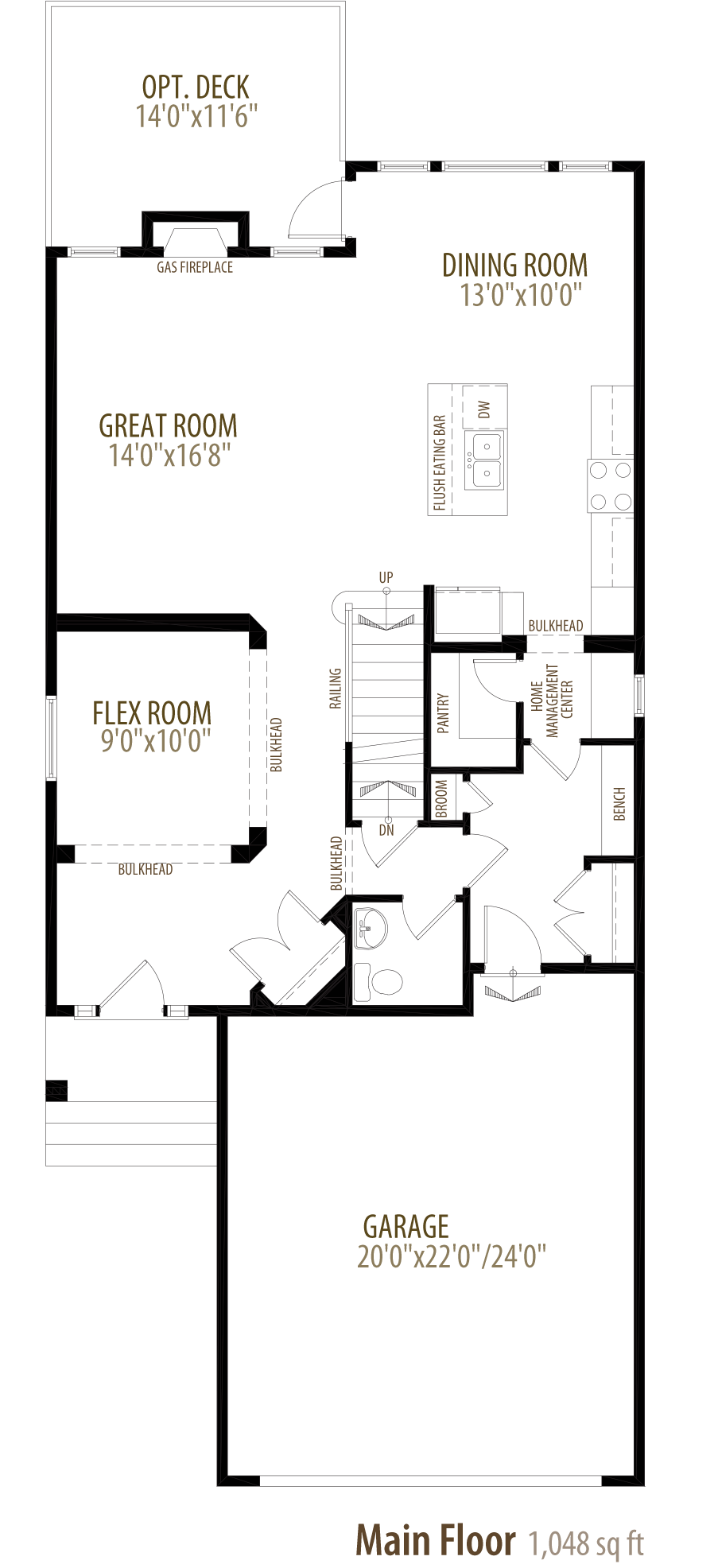 Everett Floorplan