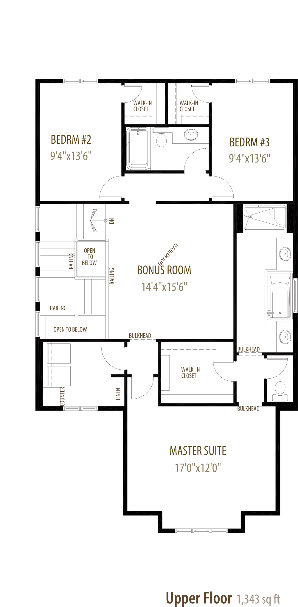 Pinnacle II Floorplan