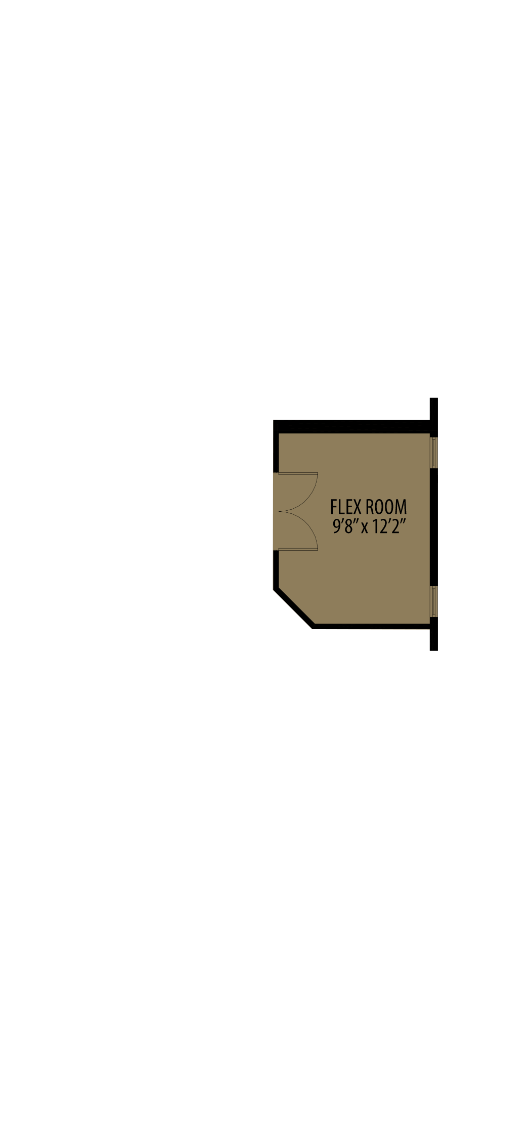Option 5 Enclosed Flex Room