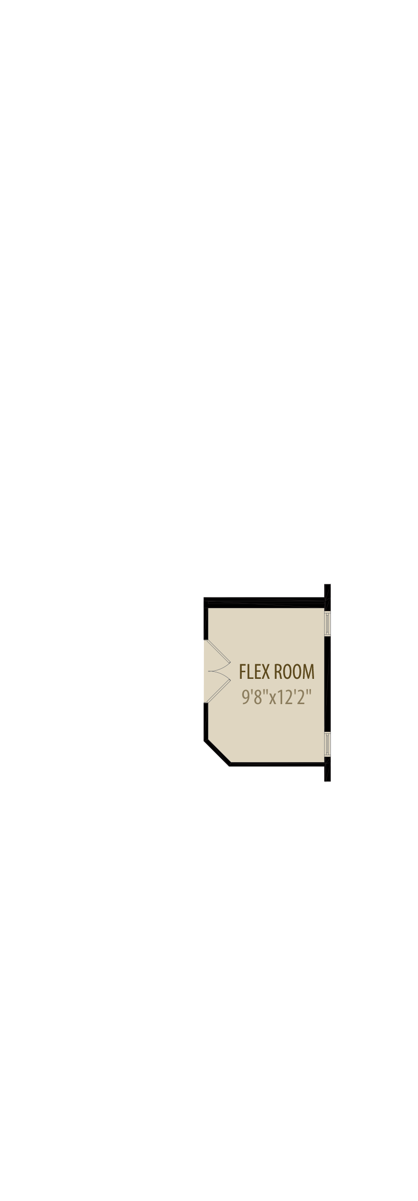 Enclosed Flex Room