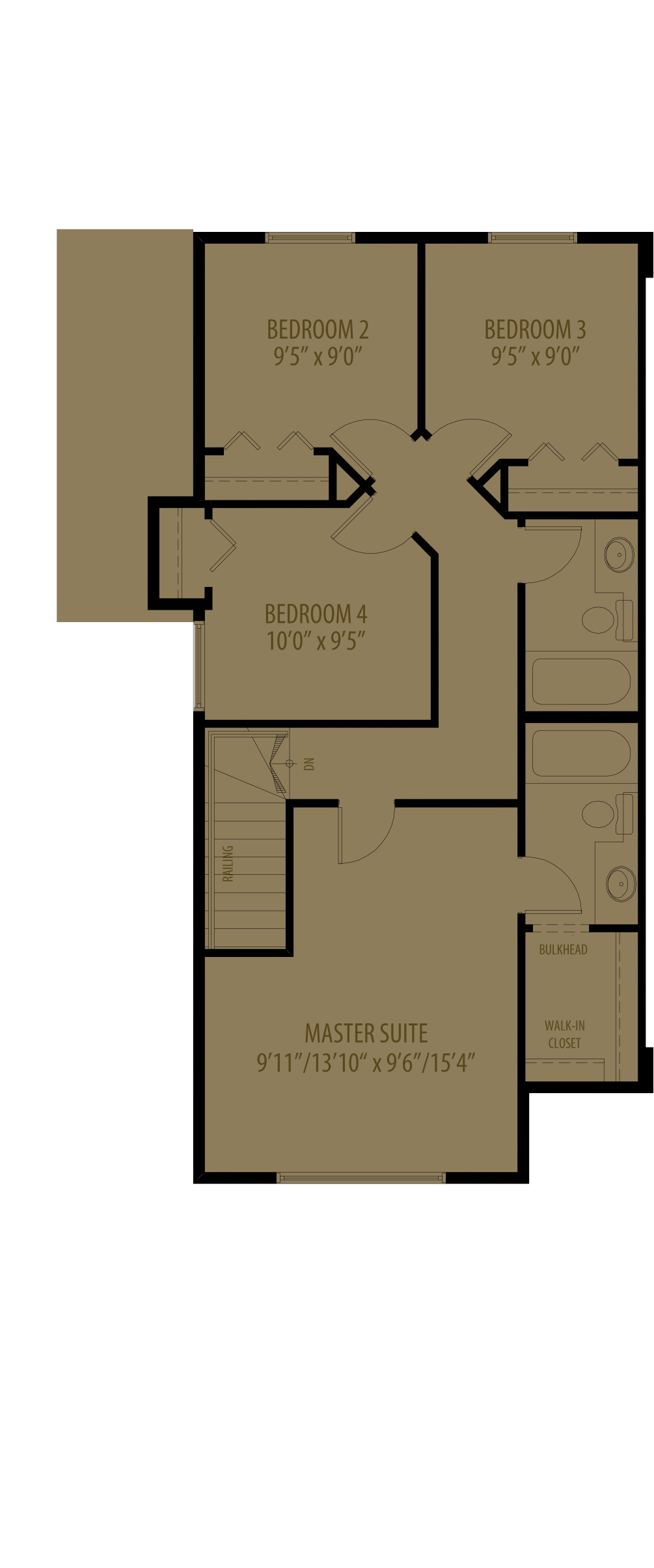 4Th Bedroom Adds 10 Sq Ft