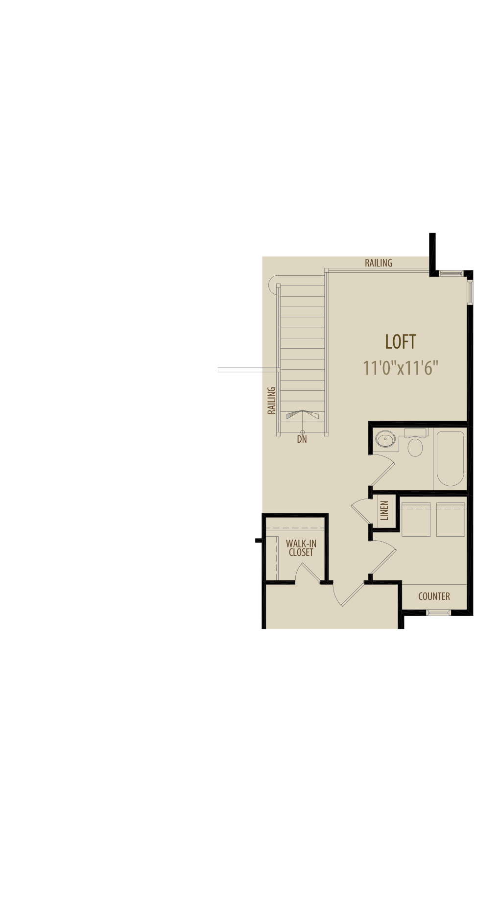Loft Deletes 13Sq Ft