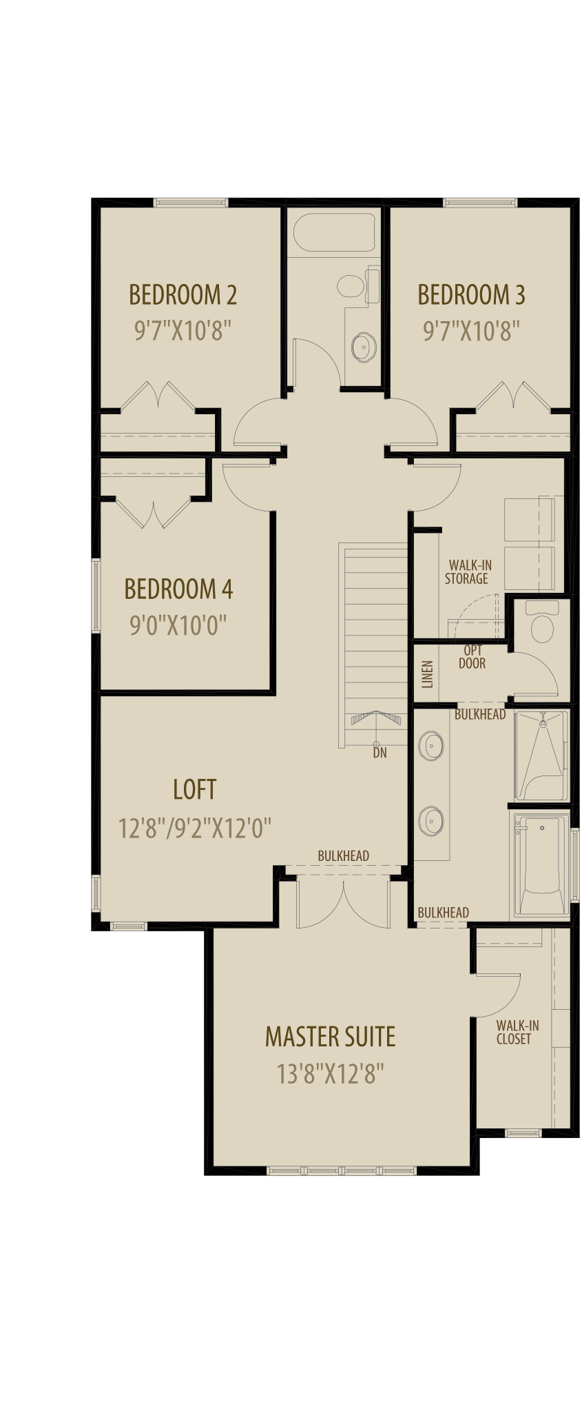 Revised Upper Floor 2 With 4Th Bedroom