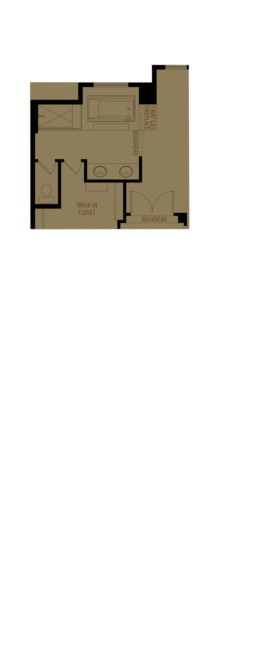 Revised Ensuite Layout Adds 8 Sq Ft