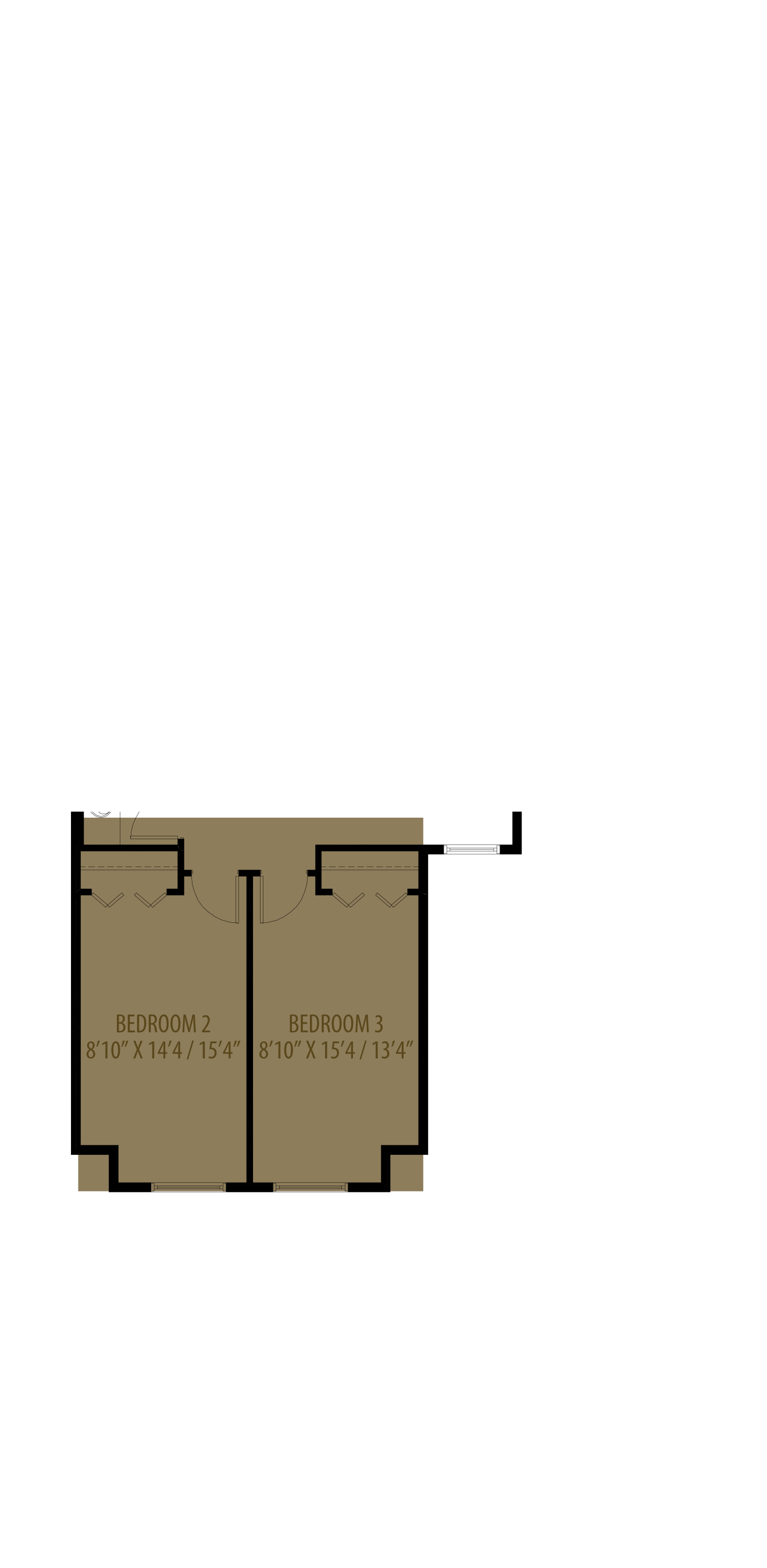 Extended Bedrooms