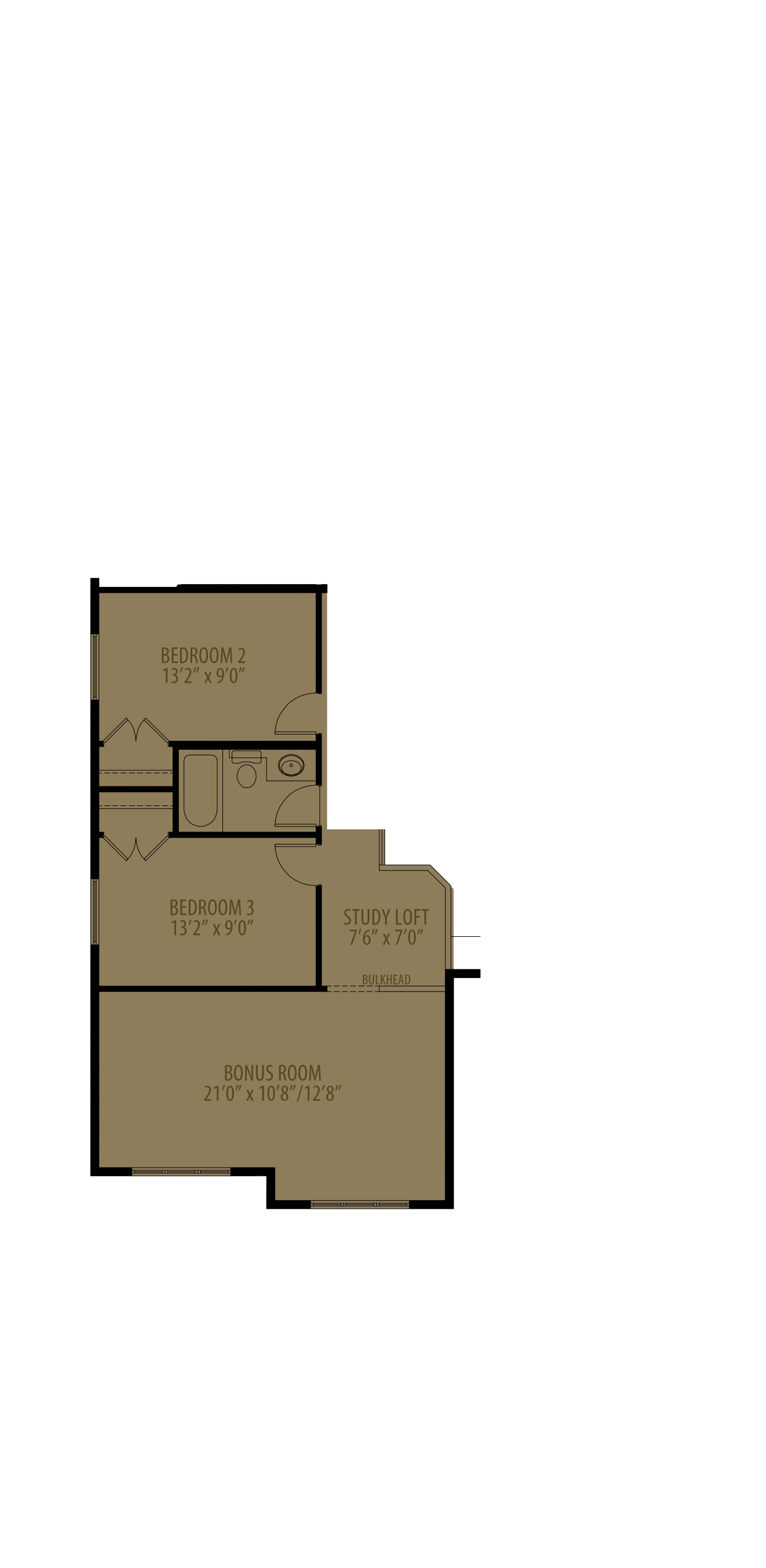 Revised Upper Floor adds 22 sq ft