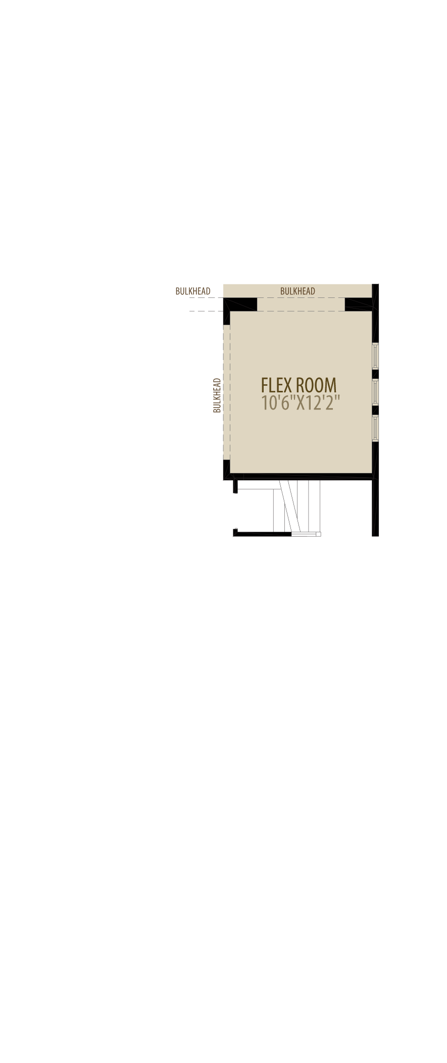 Flex Room adds 132 sq ft