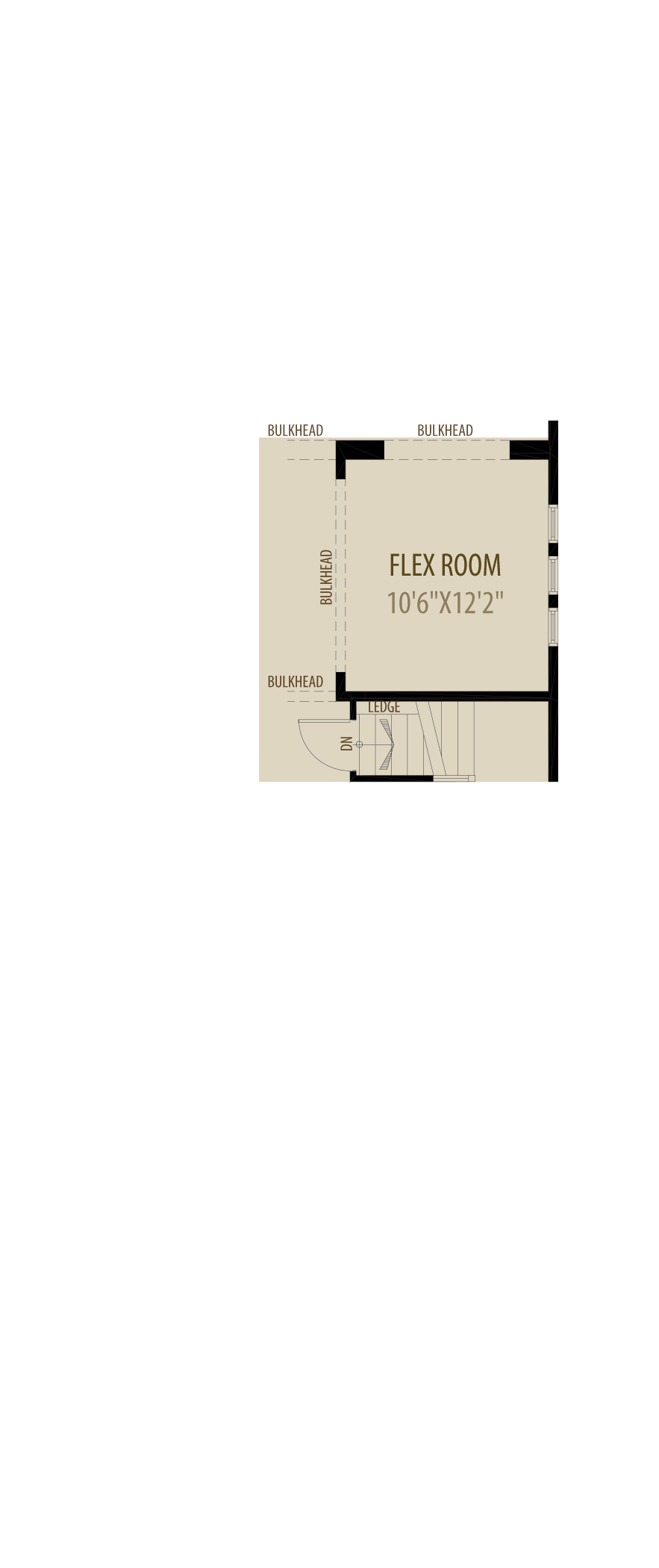 Flex Room (Adds 132 Sq Ft)