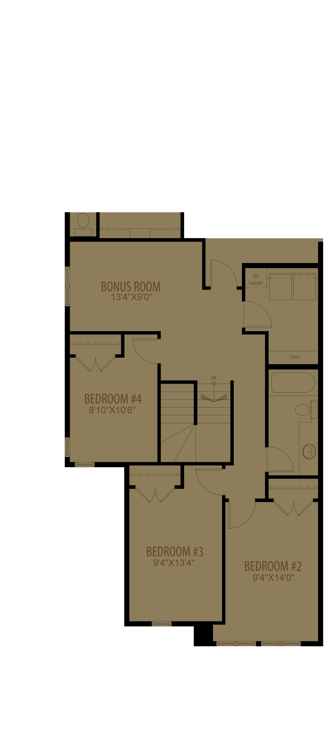 4Th Bedroom Revised Adds 100 Sq Ft