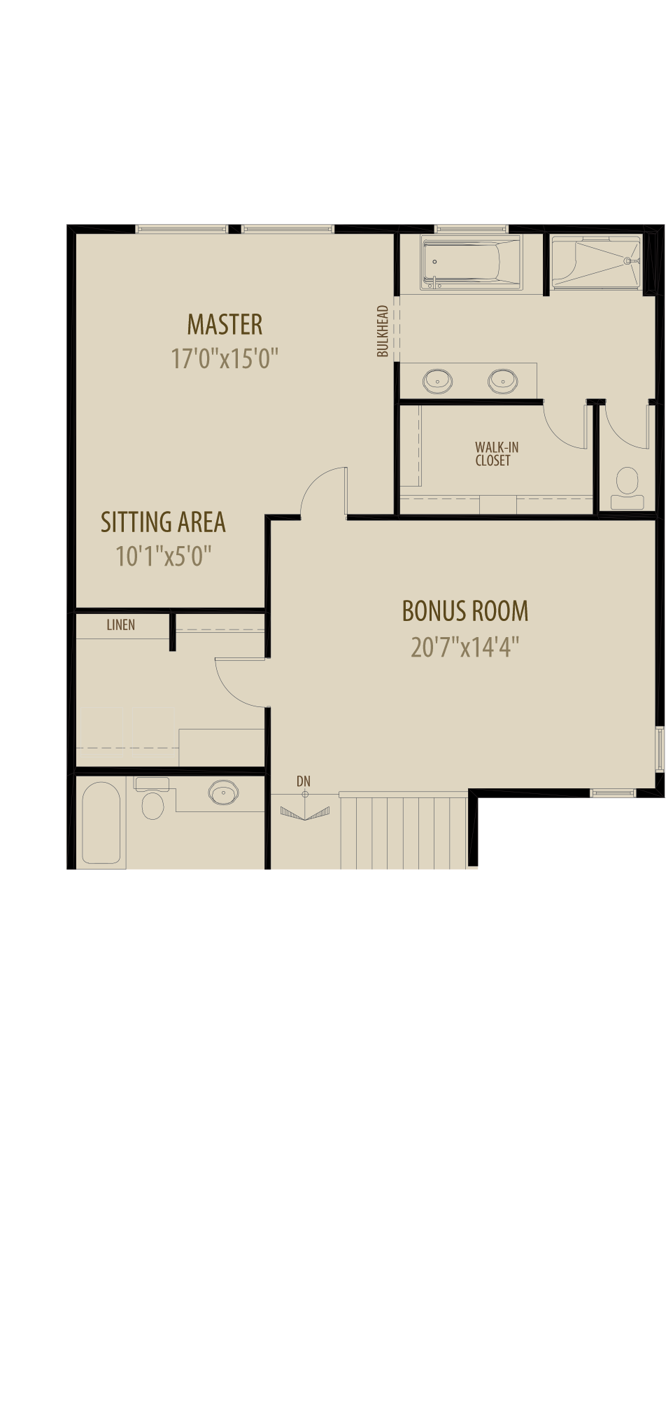 Option 4 Centre Bonus Room