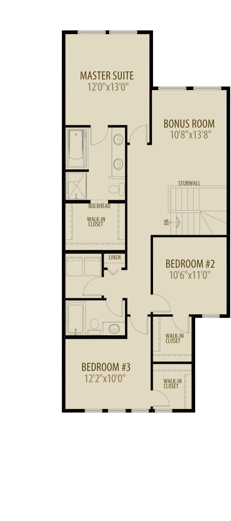 Expanded Bedroom Adds 46 sq ft