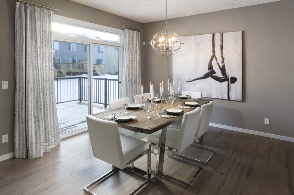 Morrisonhomes Chappelle Westport Showhome Dining 2016