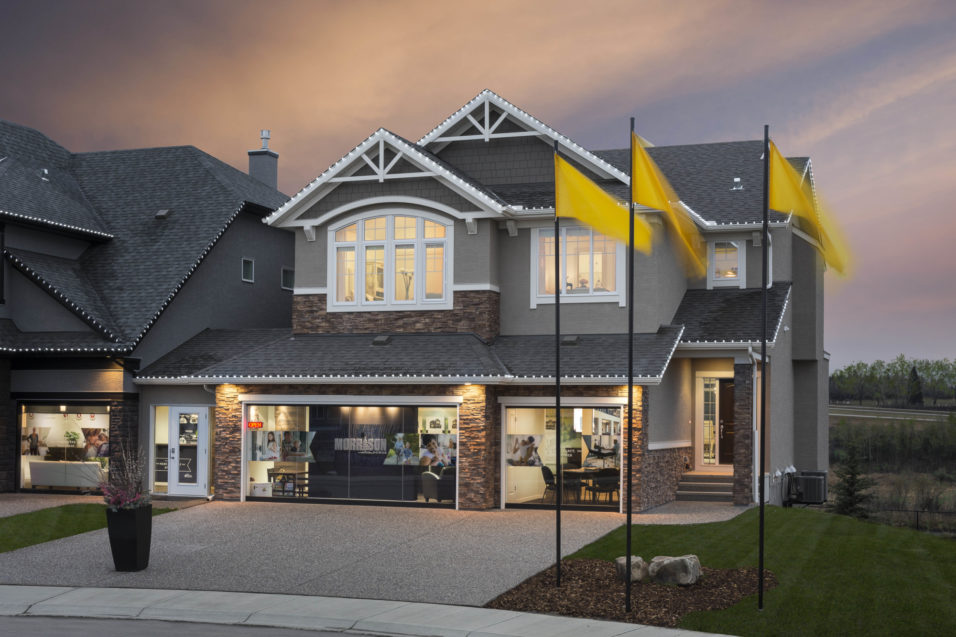 Morrison Homes Legacy Ellsworth Showhome Exterior 2016