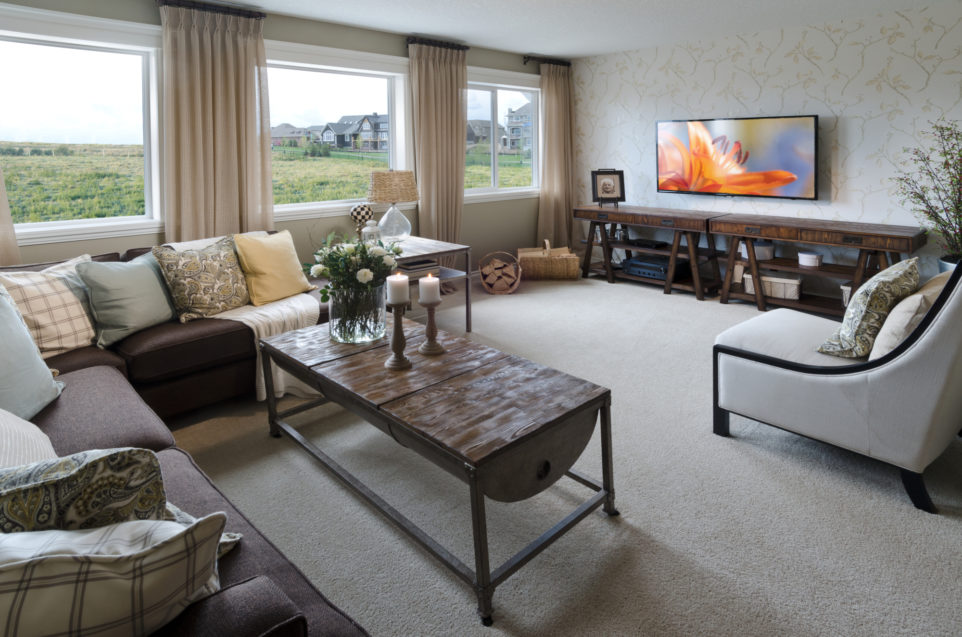 Morrison Homes Mahogany Edworthy Showhome Bonus Room 2013