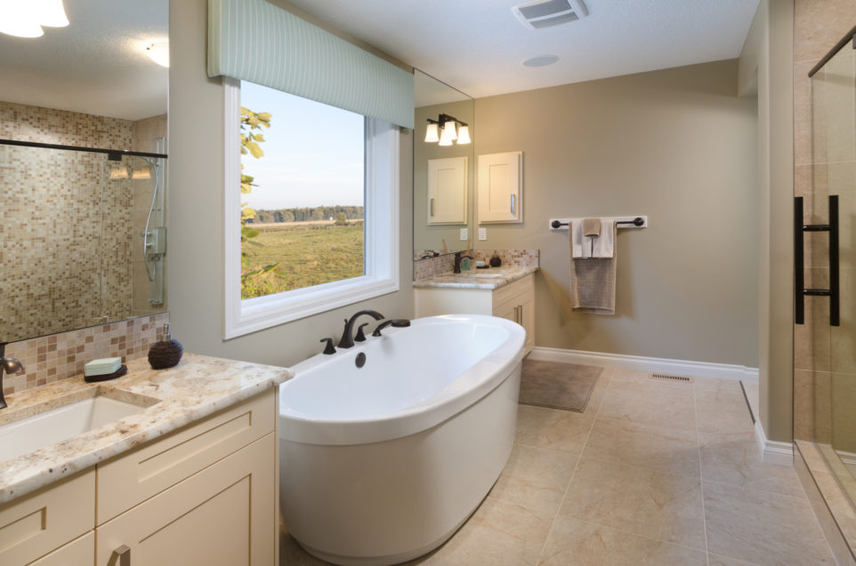 Morrison Homes Mahogany Edworthy Showhome Ensuite 2013