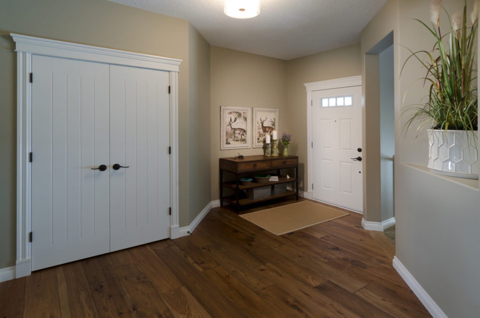 Morrison Homes Mahogany Edworthy Showhome Entrance 2013