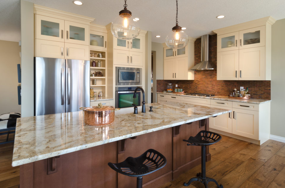 Morrison Homes Mahogany Edworthy Showhome Kitchen 2013