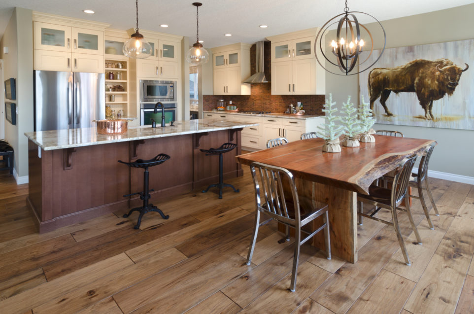 Morrison Homes Mahogany Edworthy Showhome Kitchen Dining 2013