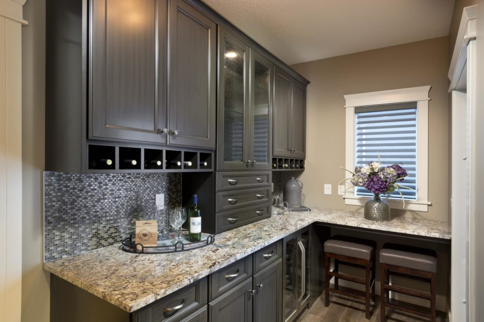 Morrison Homes Mahogany Georgetown Showhome Butlers Pantry 2014
