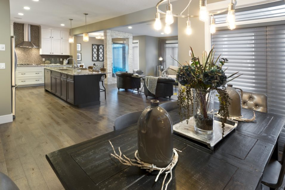 Morrison Homes Mahogany Georgetown Showhome Dining 2014