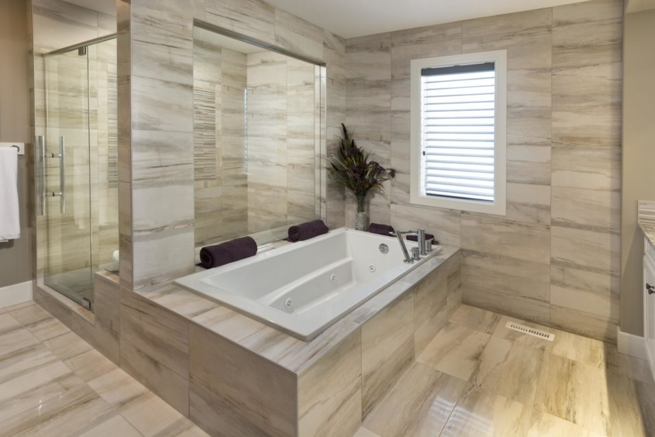 Morrison Homes Mahogany Georgetown Showhome Ensuite 2014