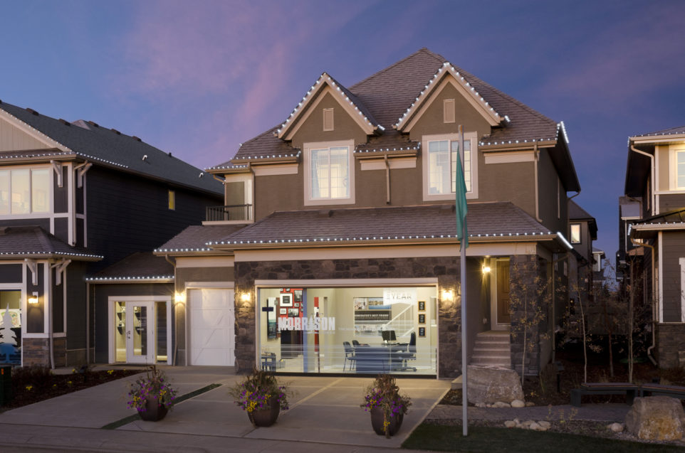 Morrison Homes Mahogany Georgetown Showhome Exterior 2014