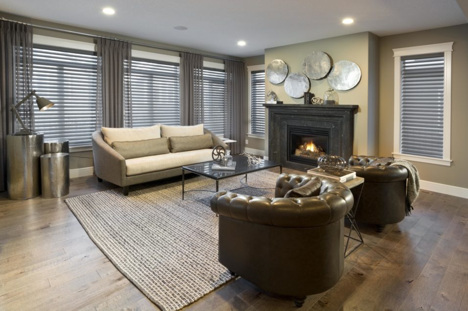 Morrison Homes Mahogany Georgetown Showhome Great Room 2014