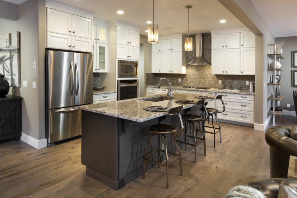 Morrison Homes Mahogany Georgetown Showhome Kitchen 2014