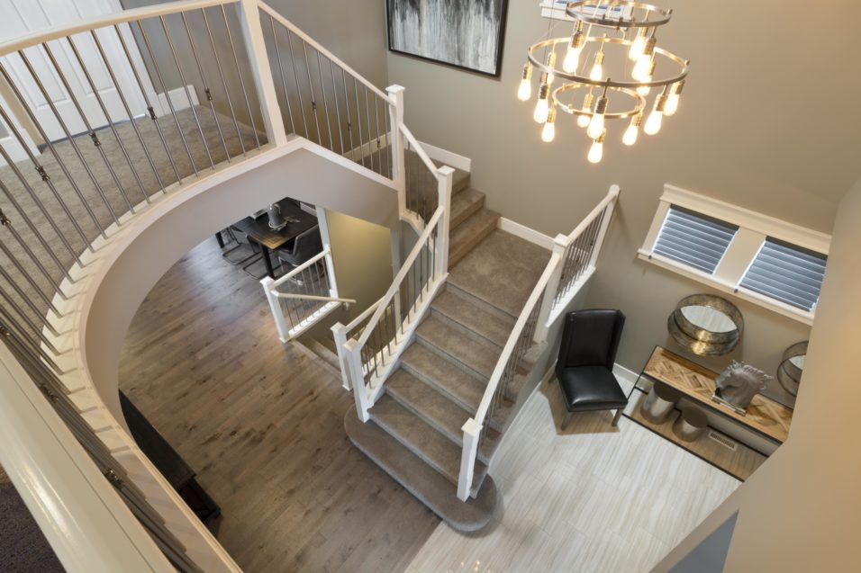 Morrison Homes Mahogany Georgetown Showhome Staircase 2014