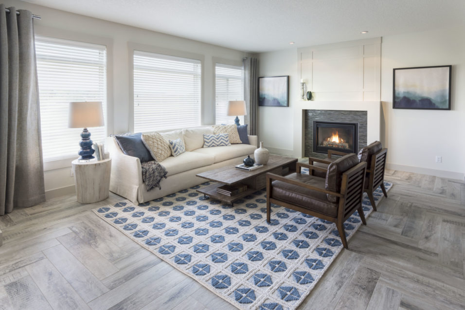Morrison Homes Legacy Ellsworth Showhome Great Room 2016