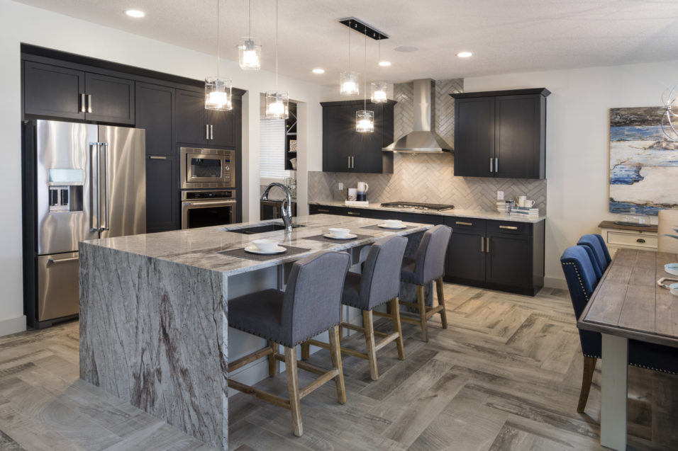 Morrison Homes Legacy Ellsworth Showhome Kitchen 2016